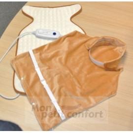 Coussin chauffant pour nuque et dos