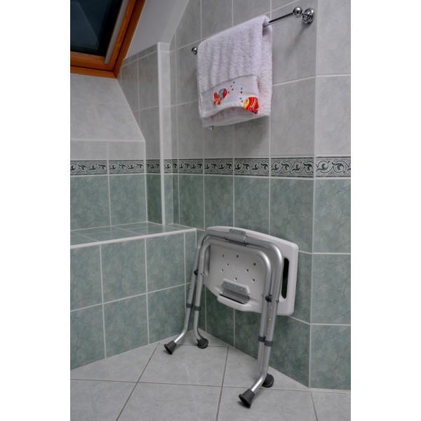 Tabouret de douche pliable for Tabouret salle de bains douche