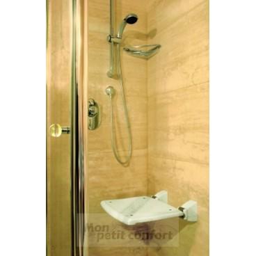 Siège de douche mural