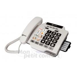 Téléphone à touches larges et photos
