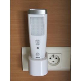 Lampe à détection de mouvement rechargeable