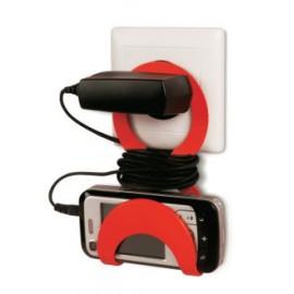 Support de téléphone pour prise électrique