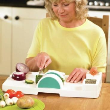 Planche multifonction de cuisine