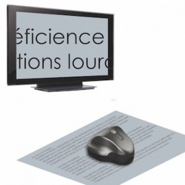 Loupe electronique TV et PC